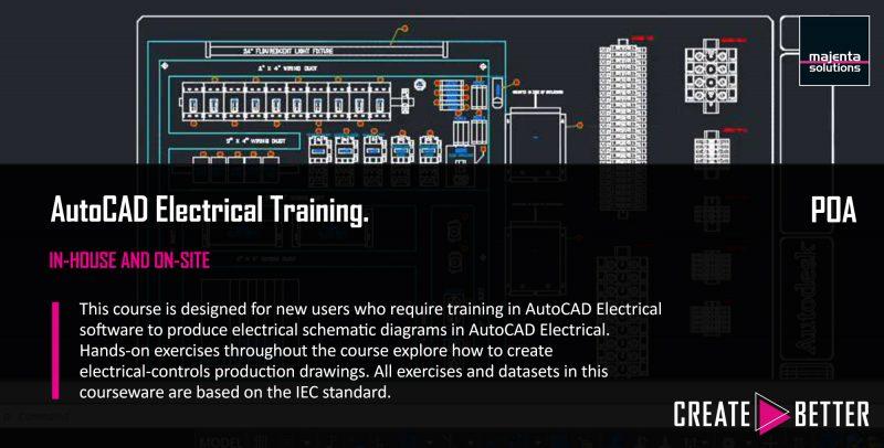 Admirable Autocad Electrical Part 1 Majenta Solutions Wiring Database Gramgelartorg